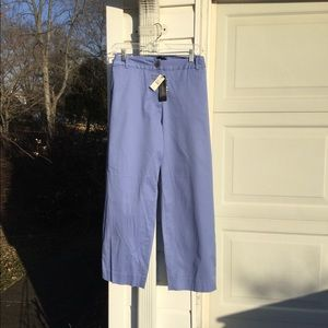 "NWT Talbots ""Perfect Crop"" Lavender Pants"